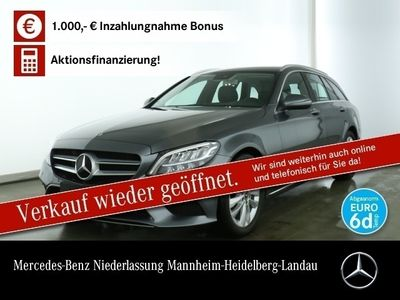 gebraucht Mercedes C200 T Avantgarde LED AHK Kamera Spurhalt-Ass PTS