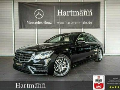 gebraucht Mercedes S400 d 4M AMG Fahrassistenz Panorama HUD KeylGo Autom.
