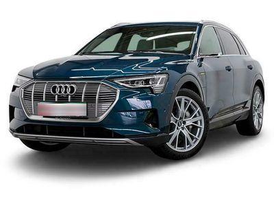 gebraucht Audi E-Tron - 55 Q S LINE LM21 S-SITZE V-SPIEGEL PANO