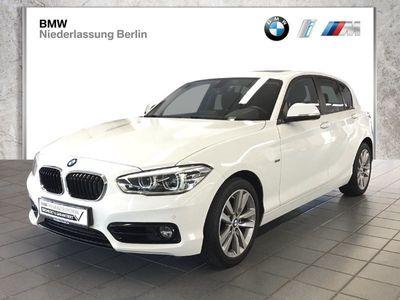 gebraucht BMW 120 d xDrive 5-Türer Sport Line