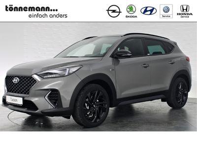 gebraucht Hyundai Tucson N-LINE 4WD AUTOMATIK+PANORAMA+NAVI+RÜCKFAHRKAMERA+LED-SCHEINWERFER+KRELL SOUNDSYSTEM