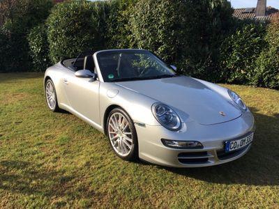 gebraucht Porsche 911 Carrera S Cabriolet 997 dt. Fzg.,Vollleder,SportChr