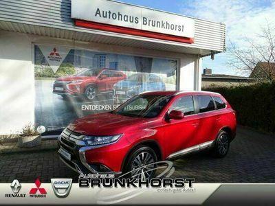 gebraucht Mitsubishi Outlander 2.0 CVT Spirit Navi+Klimaauto.