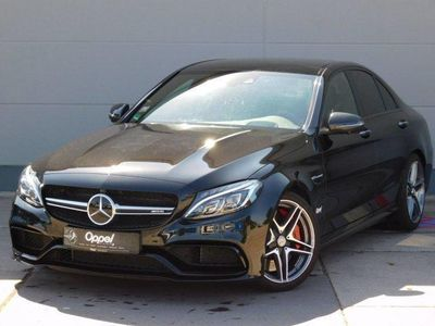 gebraucht Mercedes C63S AMG Mercedes-AMGNavi+LED+SH+Pano.-Schiebed