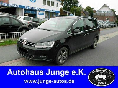 gebraucht VW Sharan 2.0 TDI BM MATCH Navi Sitzhzg AHK Nebel