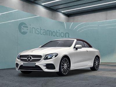 gebraucht Mercedes E200 E200 Cabrio AMG Line Widescr. Navi MultibLED To