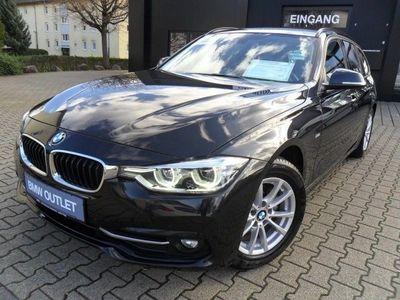 gebraucht BMW 318 d Touring Sport Line Navi LED Klimaaut. Sport