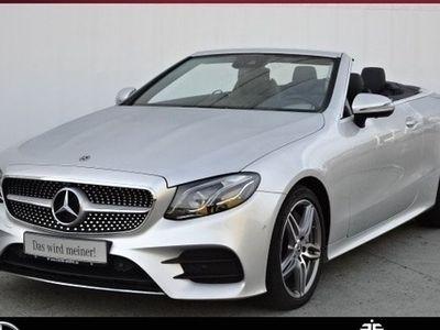 gebraucht Mercedes E400 Cabrio AMG+COMAN+MEMOR+MultiLED+360°KAM