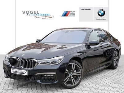 gebraucht BMW 740L d xDrive Limousine M Sportpaket Euro 6 Navi Prof R