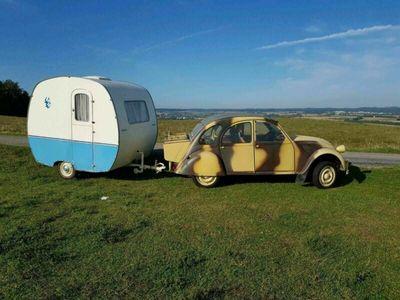 gebraucht Citroën 2CV EnteHKennzeichen u wohnwagen...