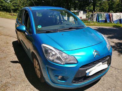 gebraucht Citroën C3 HDi 90 blau gebraucht
