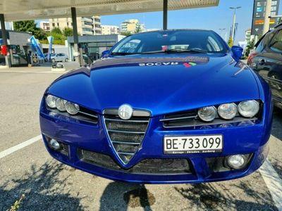 gebraucht Alfa Romeo Brera 2.2 JTS blau mit Navigati...