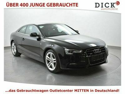 gebraucht Audi A5 Coupe 2.0 TFSI quatt S-Tr. S LINE PLUS EURO6