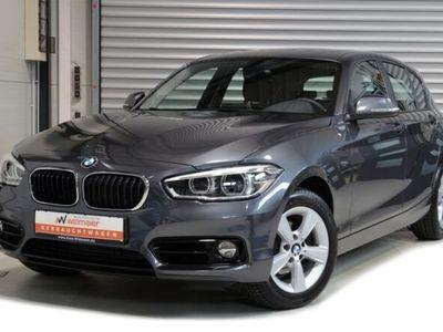 gebraucht BMW 118 d Sport Line -- Glasdach/Navi/ PDC/ LED