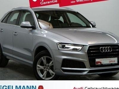używany Audi Q3 2.0 TDI S-Line Navi ,- EUR ohne Anz. Xenon