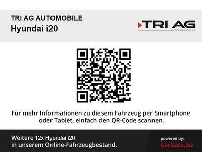gebraucht Hyundai i20 YES! 1.2 M/T Alarm Klima SHZ Temp PDC Multif.Lenkrad RDC AUX USB MP3 ESP Spieg. beheizbar
