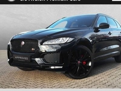 gebraucht Jaguar F-Pace 30d AWD S Black Pack 22 Zoll
