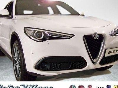 gebraucht Alfa Romeo Stelvio Super 2.2 Diesel 16V 210PS AT8 - Q Leder