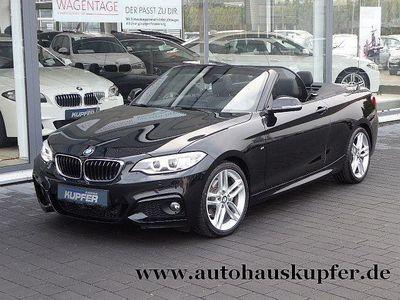 gebraucht BMW 220 D Cabrio M Sportpaket Nav Sportaut.*Xenon