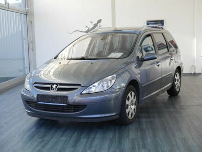 gebraucht Peugeot 307 Kombi SERVO KLIMA PANORAMADACH