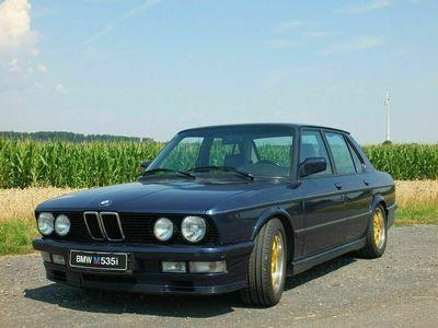 gebraucht BMW M535 i E28 royalblau rostfrei Sportleder