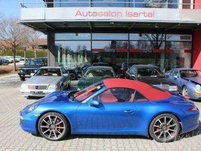 gebraucht Porsche 991 S Cabrio PDK - dt. Auto -UNIKAT-- 39tkm !