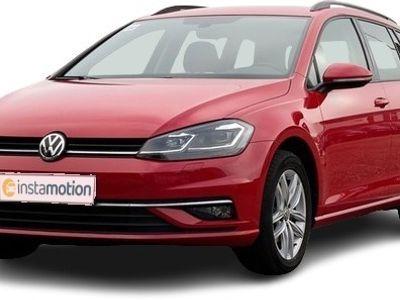 gebraucht VW Golf GolfVariant 1.6 TDI DSG Comfortline Sportsitze DiscoverPro LED