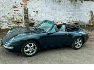 gebraucht Porsche 911 Carrera Cabriolet 993 Topzustand