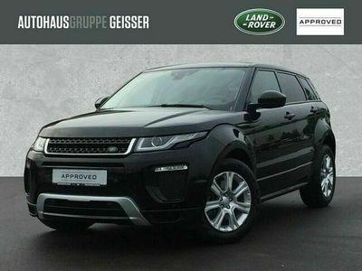 gebraucht Land Rover Range Rover evoque SD4 SE Dynamic AWD Automatik