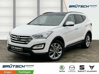 gebraucht Hyundai Santa Fe 2.2 CRDi Premium blue 4WD LEDER / PANORAMDACH / NAVI / KAMERA