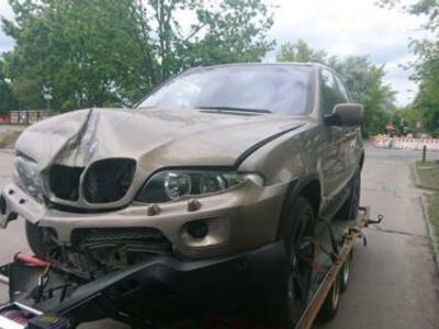 used BMW X5 E53 Facelift3.0D Individual Unfall