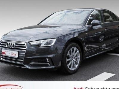 gebraucht Audi A4 Limousine S line sport 1.4 TFSI S tronic Nav