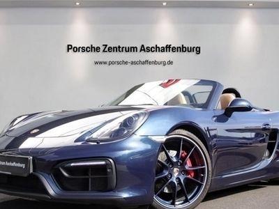 gebraucht Porsche Boxster GTS Vollleder Bose Parkassist PASM