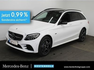 gebraucht Mercedes C300 e T AMG Pano COMAND Rekup. Bremsyst. LED PTS