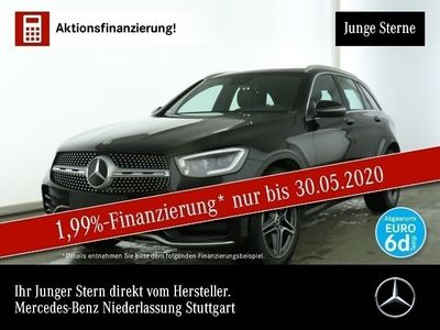 gebraucht Mercedes GLC300 4M AMG Pano Multibeam AHK Spurhalt-Ass 9G