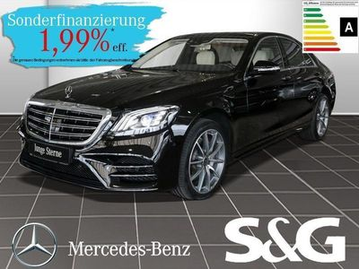 gebraucht Mercedes S400 d 4MATIC AMG-Line Standhzg/Distronic/Pano/