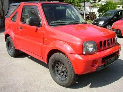 used Suzuki Jimny Cabrio*4x4* 80PS*AHK*TÜV NEU*