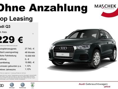 gebraucht Audi Q3 2.0 TDI AHK GRA Xenon Navi PDC FIS MMI Navi Aut