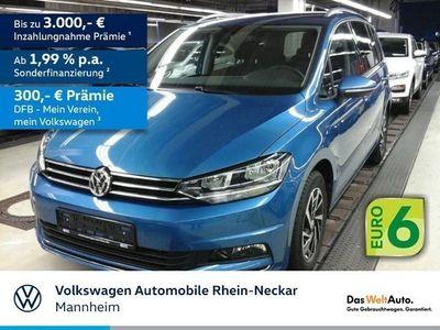 gebraucht VW Touran 1.6 TDI Join BMT Navi AHK 7-Sitze uvm