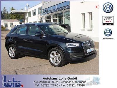 gebraucht Audi Q3 2.0 TDI DPF, Xenon Leder quattro KLIMA ALU