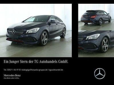 gebraucht Mercedes CLA250 Shooting Brake Sport 4M AMG Line LED+NAVI+KAMERA+GRA