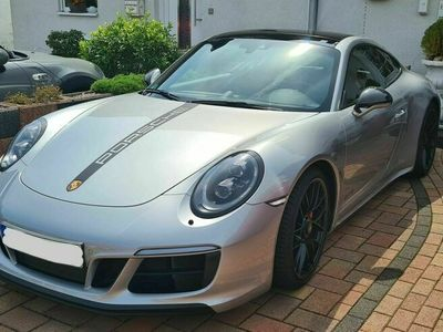 gebraucht Porsche 911 Carrera 4 GTS in Silber - Panormadach/Lift