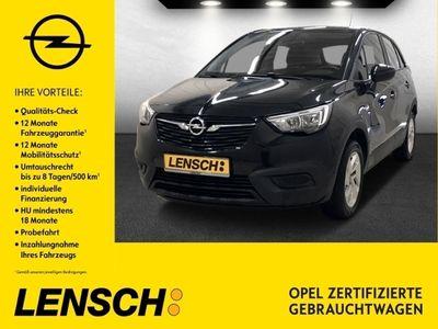 gebraucht Opel Crossland X 1.2 T Edition +INTELLILINK+SITZH+PDC+