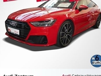 gebraucht Audi A7 Sportback 50 TDI S line Matrix/B&O/Optik schwarz/A