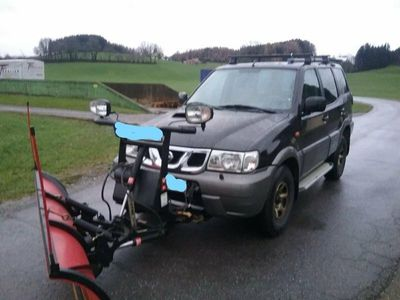 gebraucht Nissan Terrano 2 Winterdienst Jimny Boss Schneepflug Räumfahrzeug