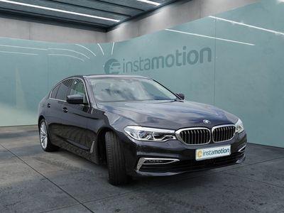 gebraucht BMW 520 520 iA Luxury Line NAVI+HUD+LED+AHK+B&W