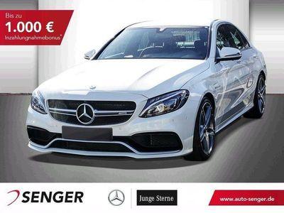 used Mercedes C63 AMG AMG S+360°KAMERA+NAVI+SHZ+PARK/SPIEGEL-PAK.