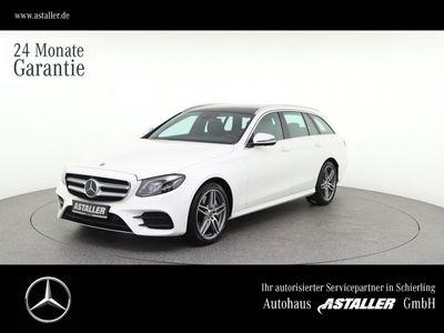 gebraucht Mercedes E400 d 4M AMG+Wide+Comand+360°+MultiB+DAB+Pan