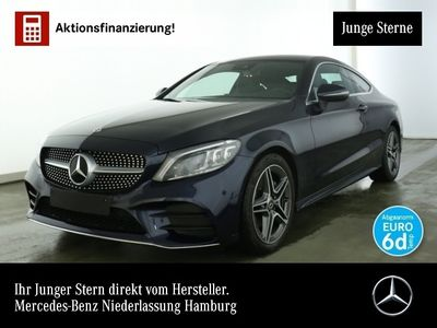 gebraucht Mercedes C180 Cp. AMG Multibeam AHK Kamera PTS Sitzh Temp