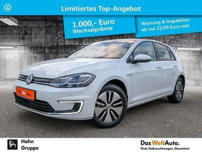 gebraucht VW e-Golf VII CCS Navi Leder ACC LED Cam ActiveInfo